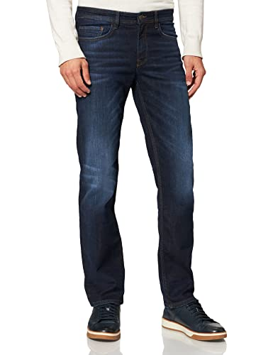 Cross Jeans Herren Antonio Loose Fit Jeans, Blau (Deep Blue 089), W38/L36 von Cross