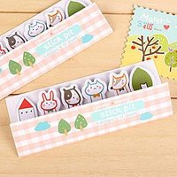 Set of 6: Assorted Mini Sticky Notes Multicolor - One Size von Cute Essentials