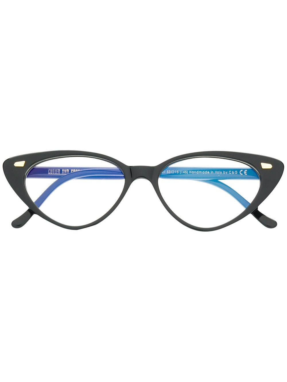 Cutler & Gross 'Candy Darling' Brille - Schwarz von Cutler & Gross