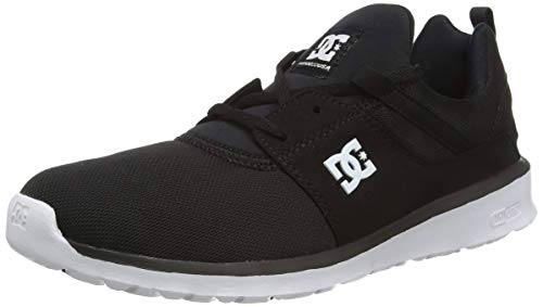 DC Shoes Herren Heathrow Sneaker, Schwarz (Black/White-BKW), 36.5 EU von DC Shoes