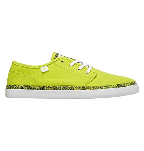 DC Shoes Studio LTZ, Damen Espadrilles Gelb Bright Yellow von DC Shoes
