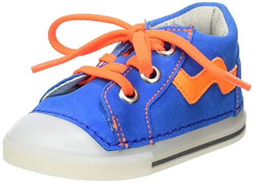 Nubuk Ozean 47 Blau 17 EU D/äumling Unisex Baby Polly Sneaker