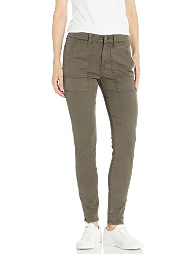 Daily Ritual Stretch Cotton/Lyocell Zip-Pocket work-utility-pants, Surplus, US 10 (EU M - L) von Daily Ritual