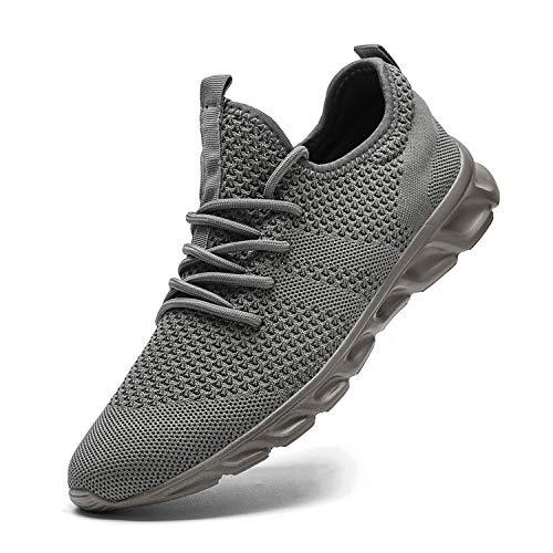 Herrenschuhe Atmungsaktiv Turnschuhe Sneaker Laufschuhe Joggen Sportschuhe 45 L