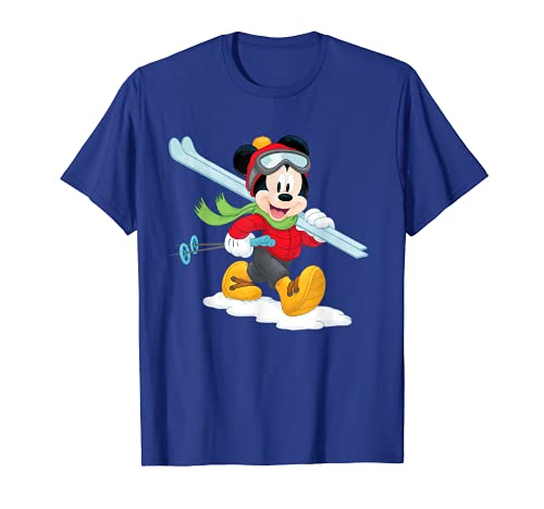 Disney Mickey Mouse Winter Ski Adventure T-Shirt von Disney