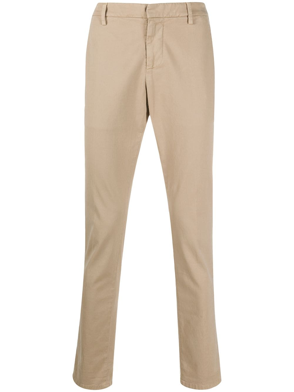 Dondup slim-fit chino trousers - Nude von Dondup