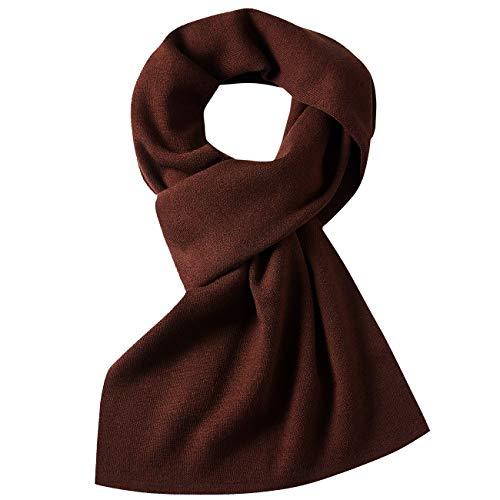 Mit Geschenkbox DOVAVA Schal Herren,30/% Merinowolle Herrenschal Winter,Weiche Warm Kaschmir Schal in 4 Farbe