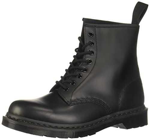 Dr 1460 MONO 41 Unisex Combat BLACK Boots EU Schwarz Black 7 Erwachsene Martens UK Erwachsene Smooth r5UArw