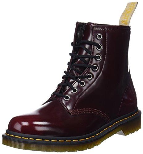 29b648d9915526 Dr. Martens Unisex-Erwachsene Vegan 1460 Klassische Stiefel Rot (Cherry Red  600)
