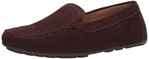 Driver Club USA Damen Leather Made in Brazil Luxury Driving Loafer with Venetian Detail Halbschuhe, Braunes Nubukleder/Natursohle, 39.5 EU von Driver Club USA
