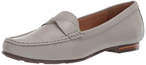 Driver Club USA Womens Genuine Leather Made in Brazil San Diego Loafer Driving Style, ash Grainy 9 M US von Driver Club USA
