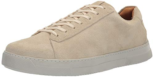 Driver Club USA Herren Leather Made in Brazil Lightweight Technology Laceup Sneaker Turnschuh, beige, 39.5 EU von Driver Club USA