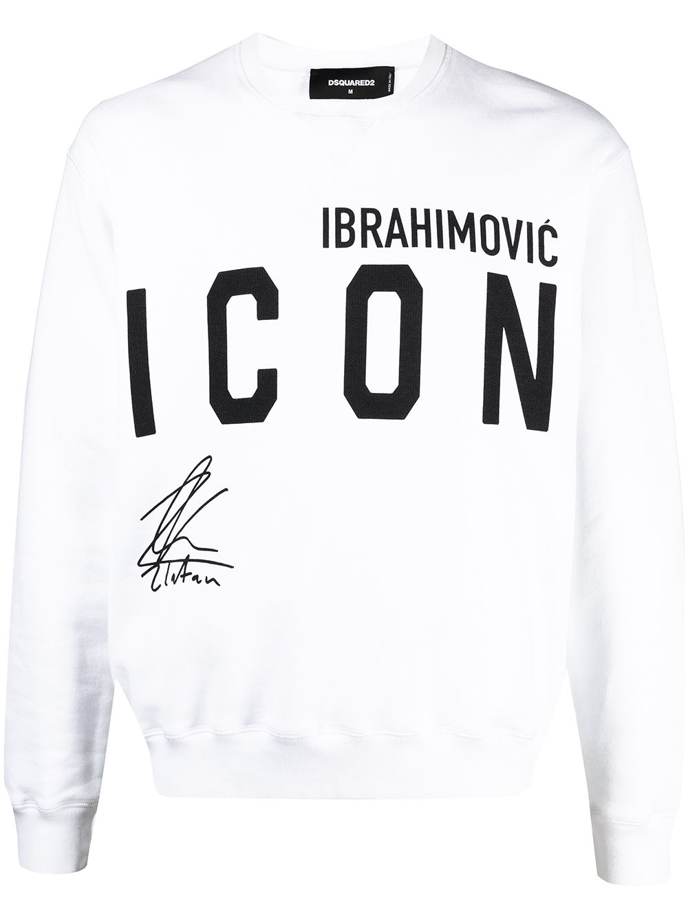 Dsquared2 Ibrahimovic Icon Sweatshirt - Weiß von Dsquared2