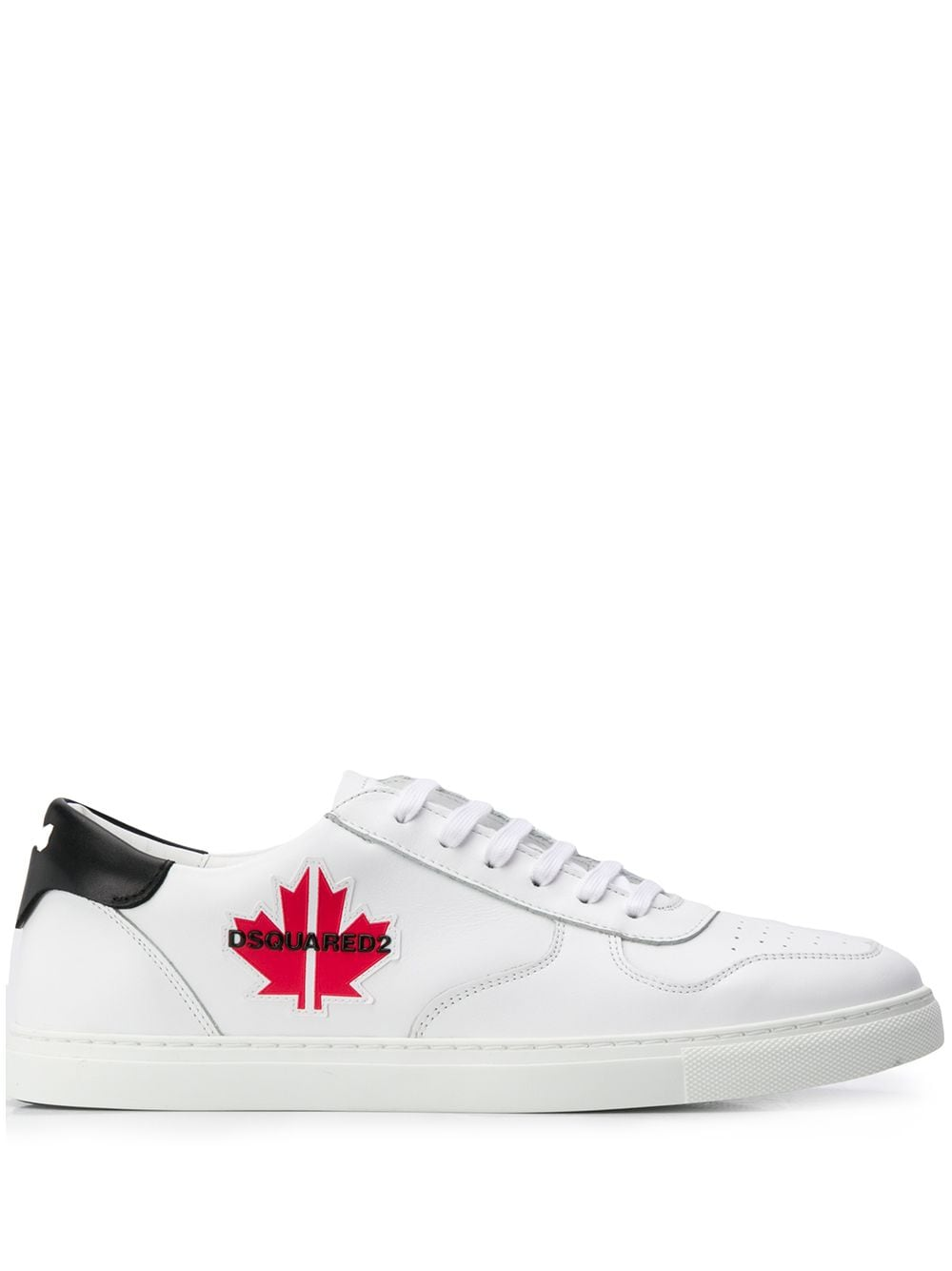 Dsquared2 Sneakers mit Ahorn-Patch - Weiß von Dsquared2