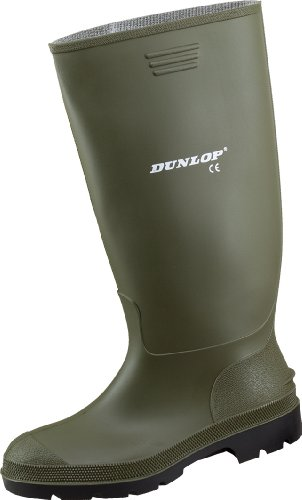 Dunlop Regenstiefel Gummistiefel 42 Arbeitsstiefel Preismeister oliv BazxB6q