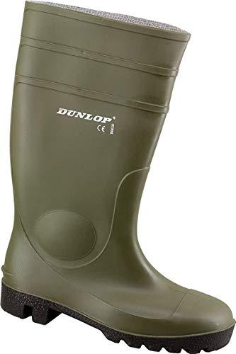 Oliv Regenstiefel Arbeitsstiefel 46 Gummistiefel Gartenstiefel Dunlop Protomaster Full Safety EU nqPxw