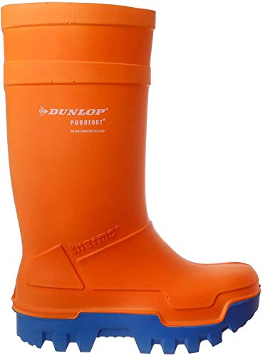 Thermo 45 EUR Purofort Dunlop Sicherheits Orange C662343 Gummistiefel H8Fw7F
