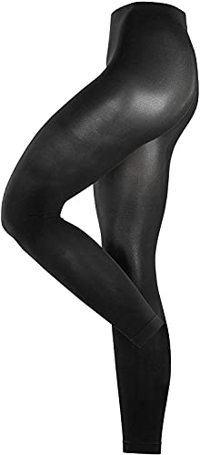 ESPRIT Damen Leggings 18433 Cotton LE, Gr. 42/44, schwarz (black 3000) von ESPRIT
