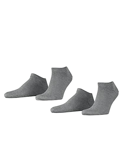 ESPRIT Herren Sneaker Socken 17855 Basic Short SO, Doppelpack, Gr. 43-46, Grau (light grey 3390) von ESPRIT