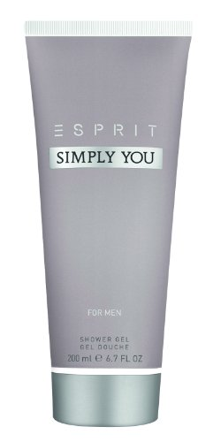 Esprit Simply You men Duschgel, 200ml, 1er Pack (1 x 200 ml) von ESPRIT