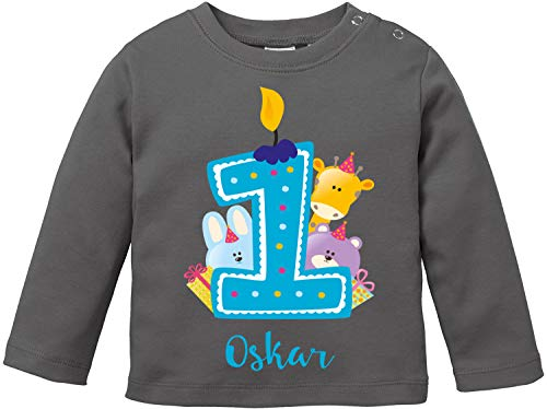 EZYshirt/® Nordkurve auf Schalke Baby T-Shirt Bio Baumwolle