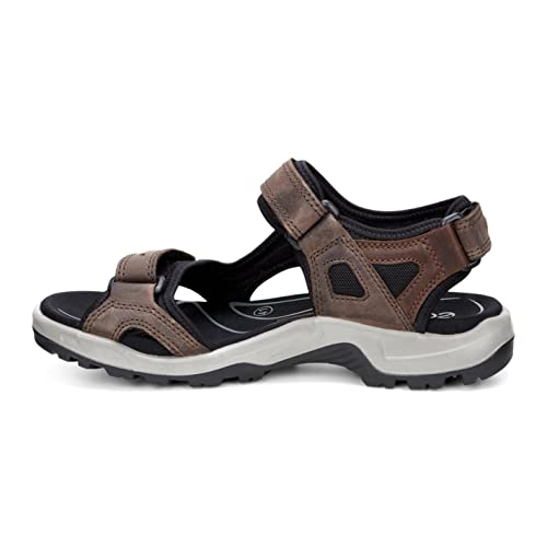 Ecco Offroad, Damen Sport- & Outdoor Sandalen, Schwarz (BLACK02001), 38 EU (8 Damen UK)