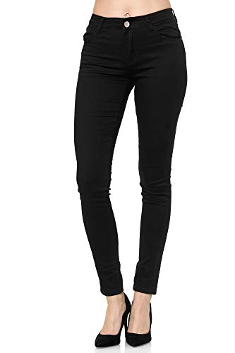 Elara Damen Stretch Hose Push Up Jeans Chunkyrayan