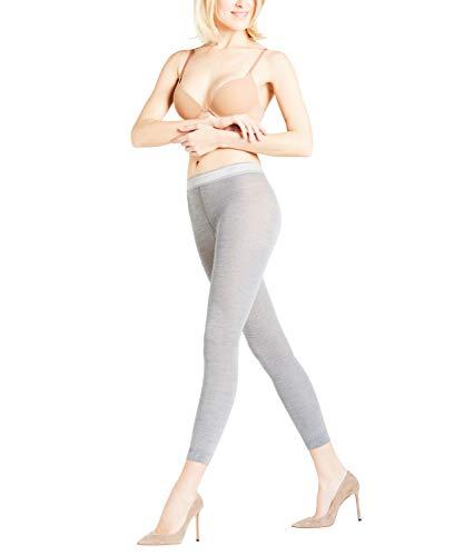 c17c90bd327 FALKE Softmerino Damen Leggings light grey mel. (3830) 36-38 weich  wärmend