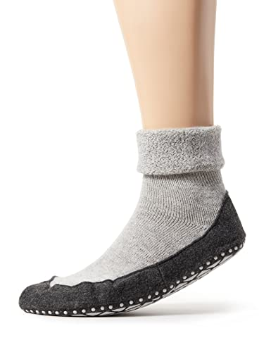 Falke Herren Socken Cosyshoe, grau (light grey 3400), 39-40, 16560 von FALKE
