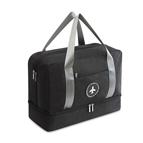 ac50e0536eab3 FANDARE Sporttasche Reisetasche Handgepäck Weekender für Damen Herren mit  Schuhfach 24 L Handgepäck für Übernachtung