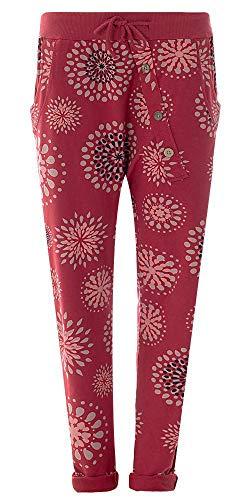 216d0811894c FASHION YOU WANT Damen Hose Jogginghose Größe 36-50 Sweatpants Sterne Star  Camouflage Anker Uni
