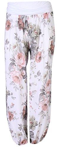 75bfde977bfc FASHION YOU WANT Damen Haremshose Pumphose Sommerhose großes Paisleymuster Größe  34 36 bis Größe 48