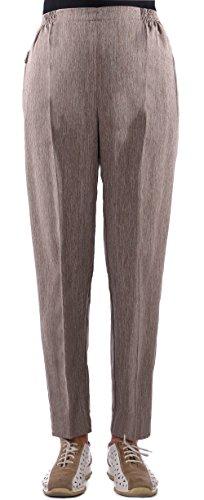 7ea77332d24ef7 FASHION YOU WANT Damen Seniorenhose Schlupfhose mit Gummibund Kurzgröße  Frühjahr/Sommer Qualität Frühjahr/Sommerhose