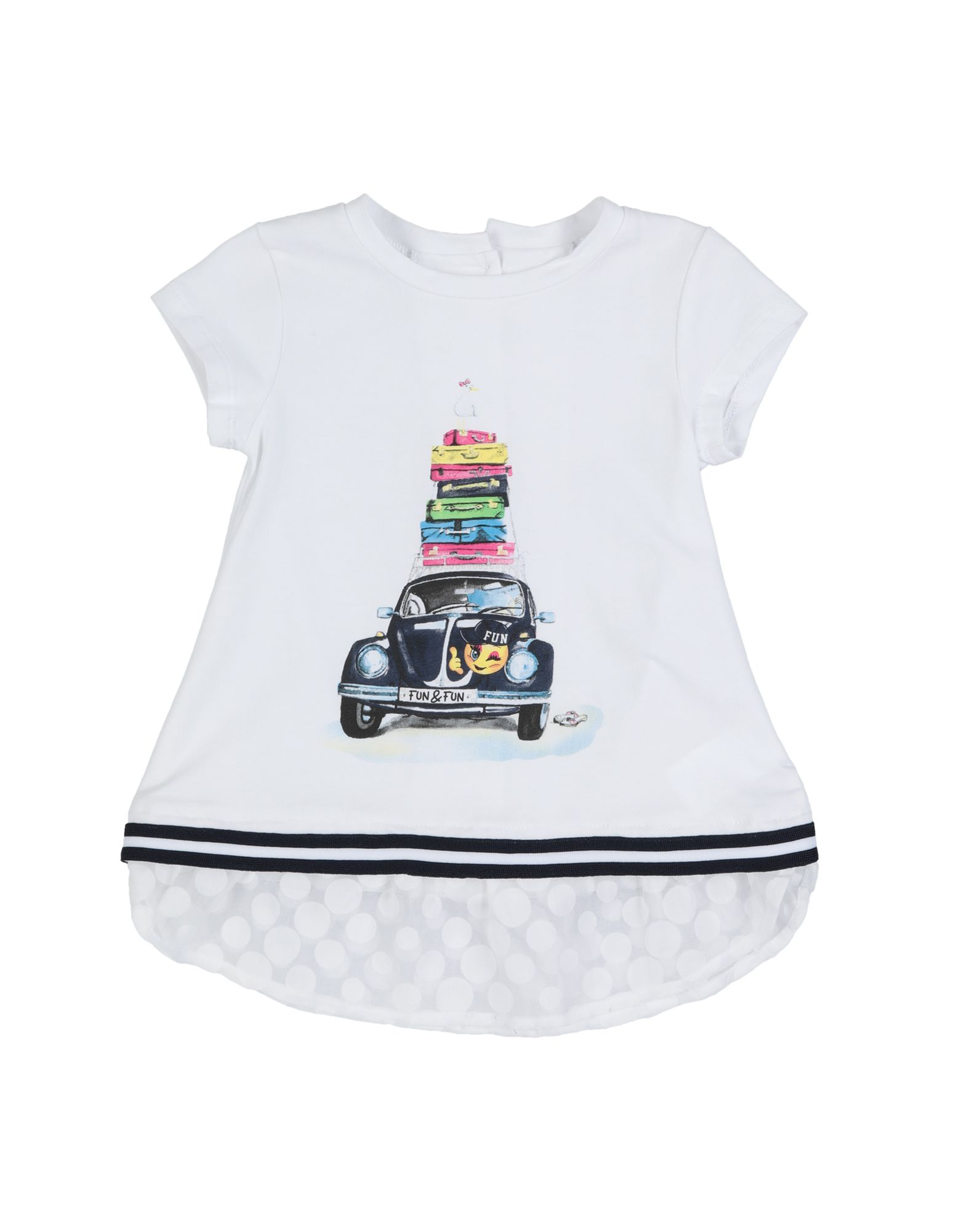 FUN & FUN T-shirts Kinder Weiß von FUN & FUN