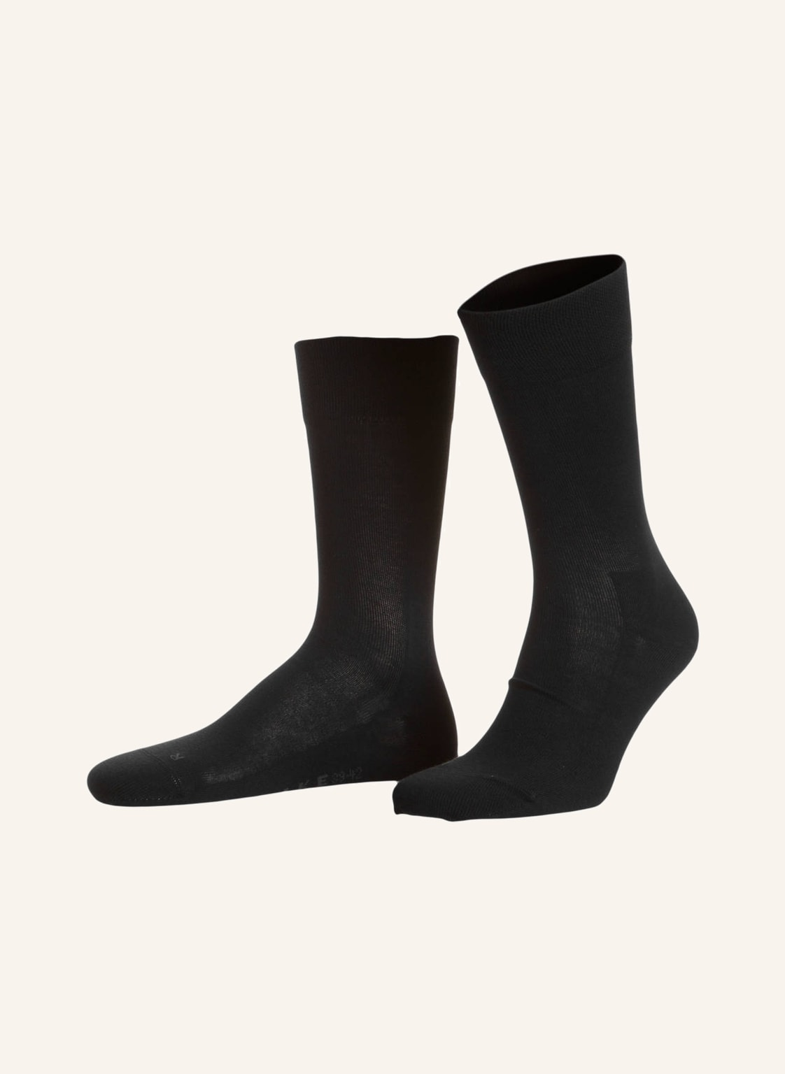 Falke Socken London Sensitive schwarz von Falke
