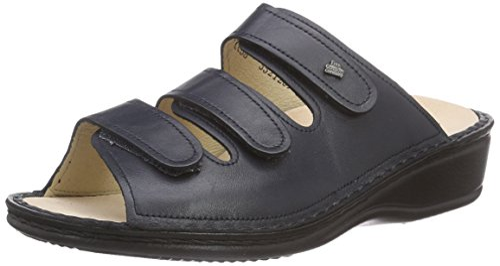 Blau Pantoletten Damen Pisa Comfort 40 Blau Finn ItS0q