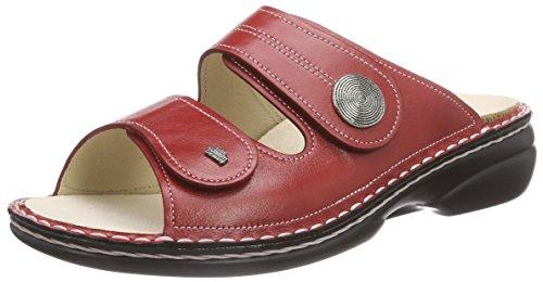 Sansibar Comfort Rot Damen Red Finn Pantoletten 40 5xFwq0WfB
