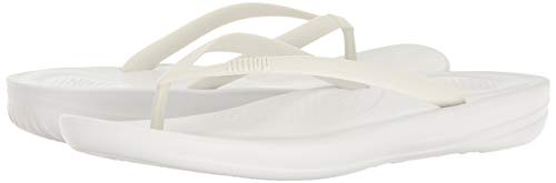 White White Flip Urban Iqushion Damen Sandalen 38 FitFlop Flops Ergonomic Peeptoe SO0x1qx