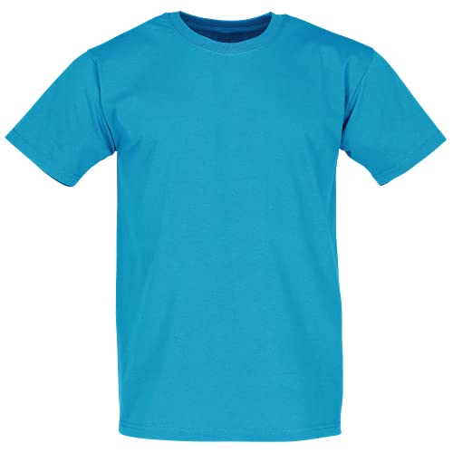 Fruit of the Loom - Classic T-Shirt 'Value Weight' X-Large,Azure Blue von Fruit of the Loom
