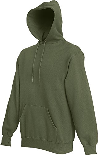 Fruit of the Loom Hooded Sweat Classic Olive - L von Fruit of the Loom