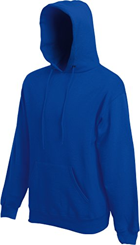 Fruit of the Loom Hooded Sweat Royal - S von Fruit of the Loom