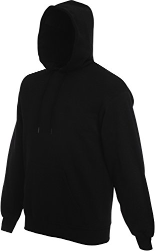 Fruit of the Loom Hooded Sweat Schwarz - XXL von Fruit of the Loom
