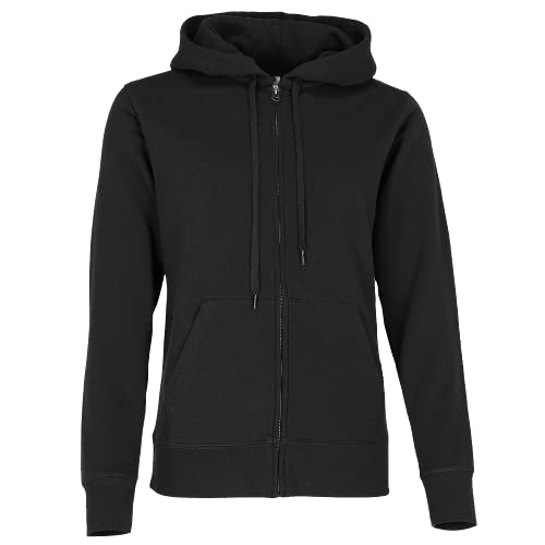 Fruit of the Loom Premium Hooded Sweatjacke Lady-Fit - Farbe: Black - Größe: XXL von Fruit of the Loom