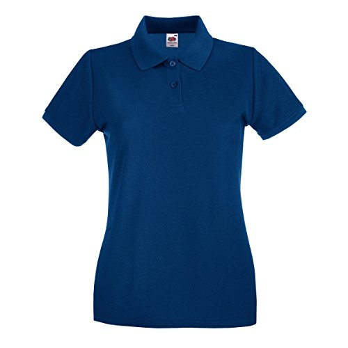 Fruit of the Loom Premium Polo Lady-Fit - Farbe: Navy - Größe: XL von Fruit of the Loom