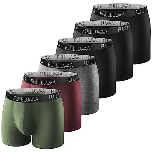 Boxershort 4-6er Unterhose Retroshort Unterwäsche Herren Slips Baumwolle Retro