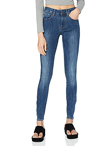 G-STAR RAW Damen Jeans 3301 D-Mid Super Skinny Wmn, Blau (Medium Aged 071), W26/L34 von G-STAR RAW