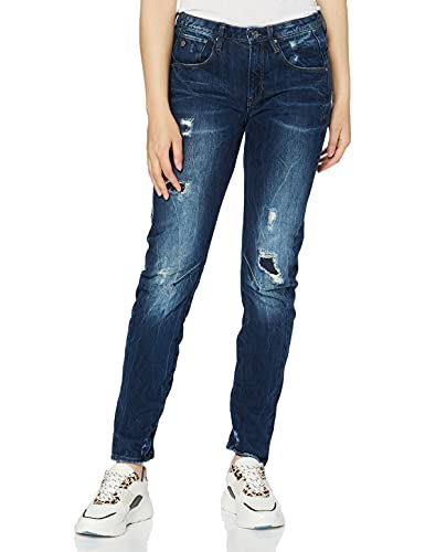 G-STAR RAW Damen Boyfriend Jeans Arc 3D, Blau (Dark Aged Restored 106), 25/30 von G-STAR RAW