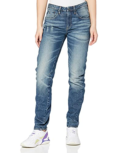 G-STAR RAW Damen Boyfriend Jeans Arc 3D, Blau (Medium Aged 71), 27/34 von G-STAR RAW