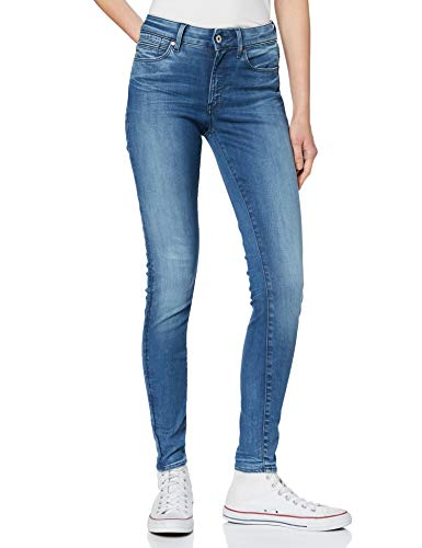 G-STAR RAW Damen Jeans G-Star Shape High Super Skinny Wmn, Blau (Medium Aged 071), W28/L32 von G-STAR RAW