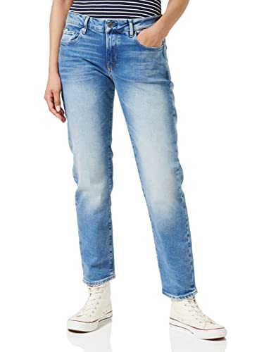 G-STAR RAW Damen Kate Boyfriend Jeans, Lt Indigo Aged C052-8436, 30W / 32L von G-STAR RAW